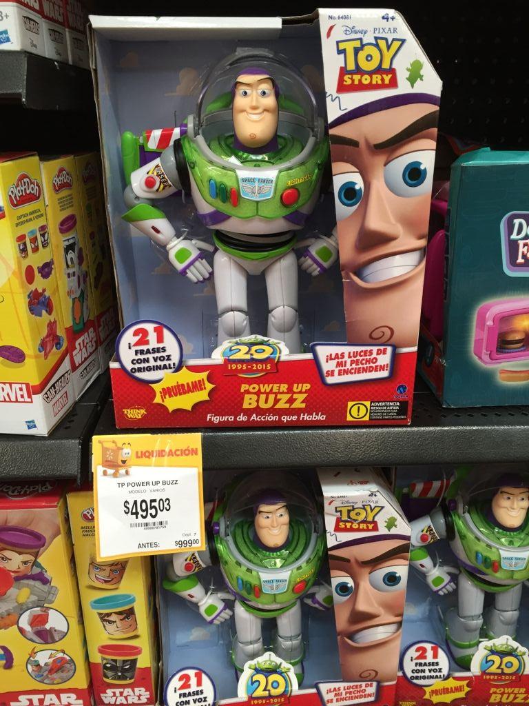 Walmart: Buzz Lightyear de $999 a $495.03