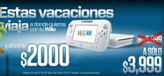 Gamers: Wii U a $3,999 y Wii U deluxe a $5,499