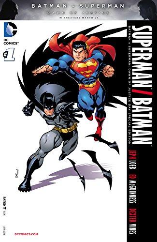 Batman v Superman: Dawn of Justice Special Edition #1 (edición Kindle)