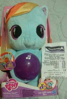 Bodega Aurrerá: Little Pony Rainbow Dash musical a $55.03