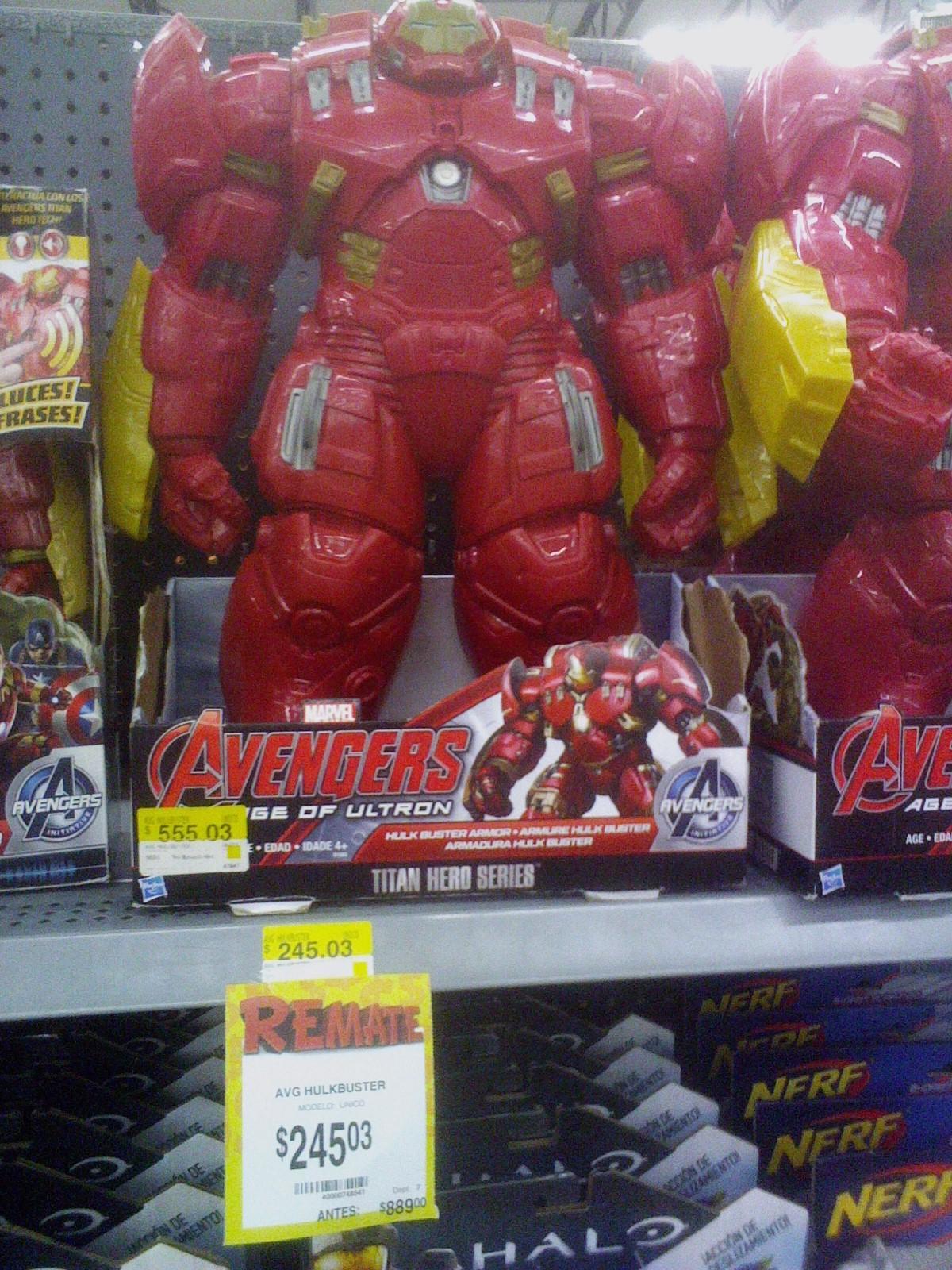 Bodega Aurrerá: carro de fricción de hulk en $85.03