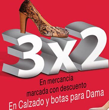 Sears: 3x2 en zapatos y botas de mujer previamente rebajadas