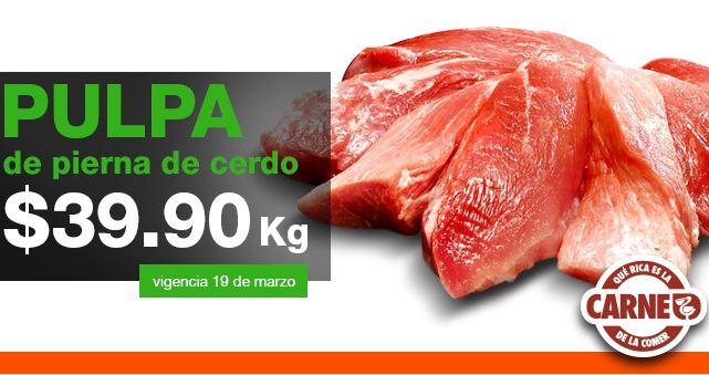 Martes de carnes en La Comer marzo 19: agujas para asar $55 y más