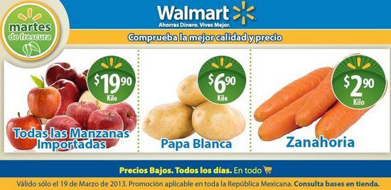 Martes de Frescura Walmart marzo 19: zanahoria $2.90 y más