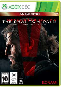 Amazon: Metal Gear Solid V: The Phantom Pain, Day 1 Edition - Xbox 360 $499