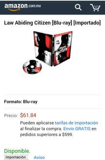 Amazon: El Vengador 'Steelbook' Blu Ray a $62.77