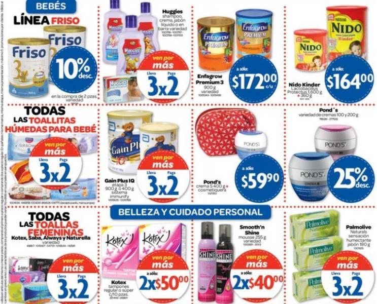 Farmacias Benavides: 2x1 en cámaras, 40% de descuento en todos los pañales, desodorantes y +