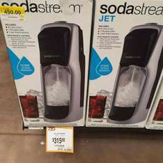 Walmart: Soda Stream a $315, cartuchos de gas a $30