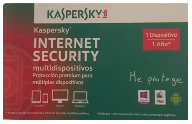 Best Buy en línea: Kaspersky Internet Security 1 año a $98