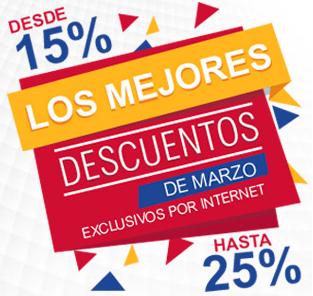 Office Depot: Descuentos Exclusivos por Internet Del 15% al 25% de descuento 30 y 31 de Marzo y MSI