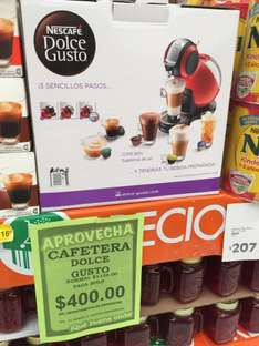 Comercial Mexicana: Cafetera Dolce Gusto a $400