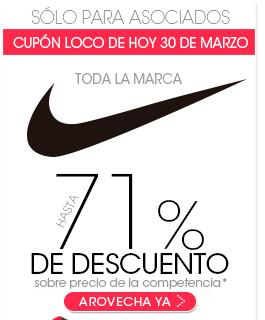 Pappomanía: Cupón del 20% de descuento en toda la marca Nike (Solo para asociados)