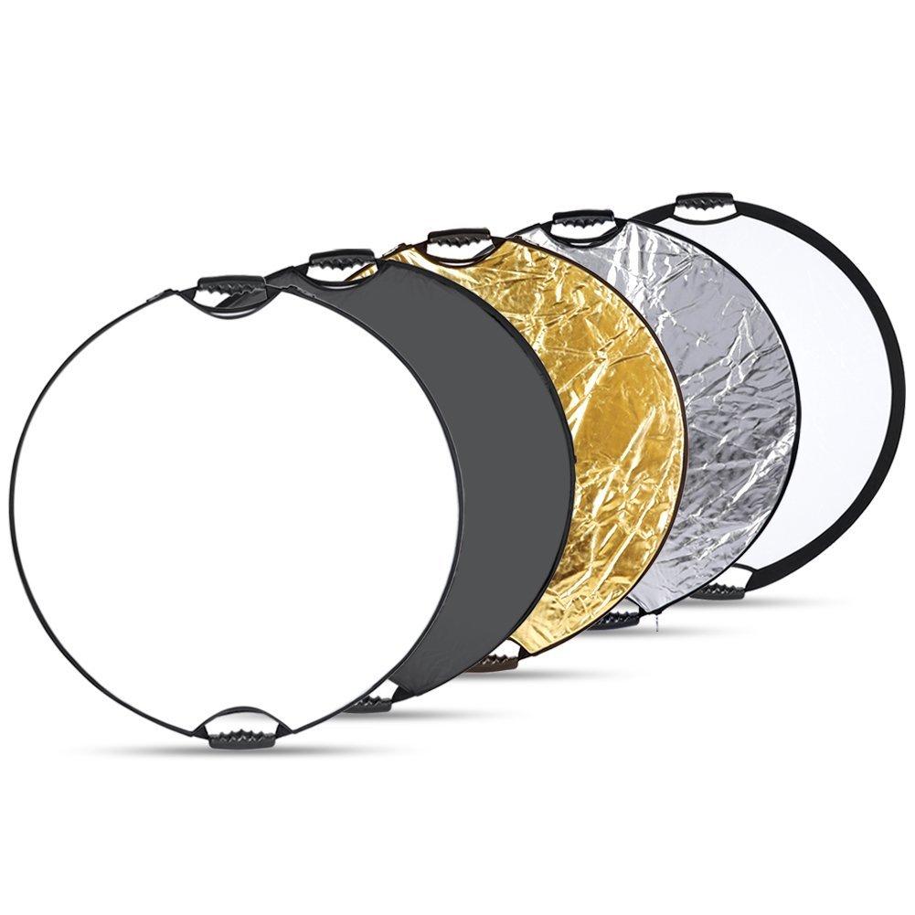 Amazon: Reflector Portátil  5 en 1 Neewer® Redondo de 81 cm a $235.49
