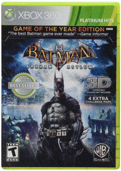 Amazon: Batman Arkham Asylum GotY para Xbox 360 a $209