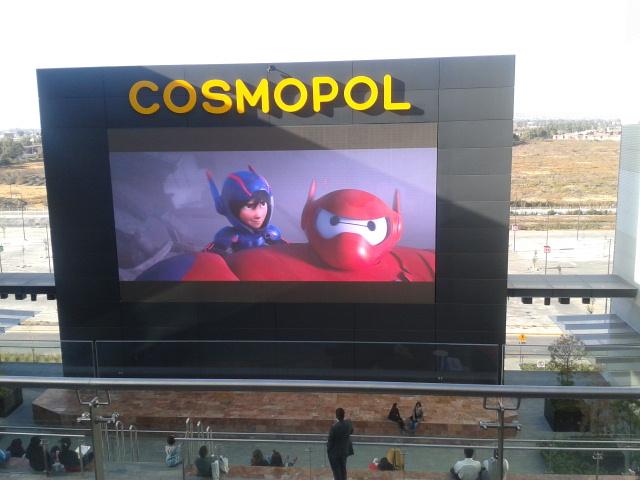 Megapantalla  Cosmopol: transmisión gratuita del clasico español Barcelona vs Real Madrid