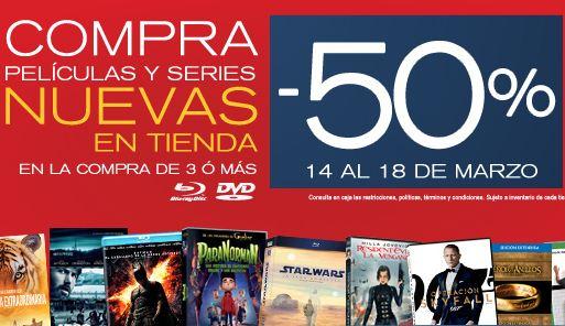Blockbuster: 50% de descuento en películas y series nuevas en tiendas físicas