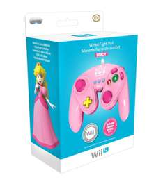 Amazon: Controles Fight Pad para Wii U (Mario, Luigi, Yoshi, Peach, etc)