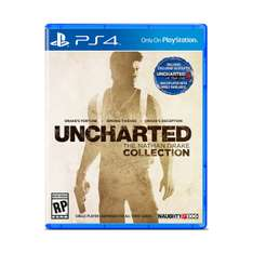 Amazon: Uncharted Collection PlayStation 4 a $622 + $106 de envío