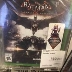 Sam's Club: Batman Arkham Knight para Xbox One a $399.01