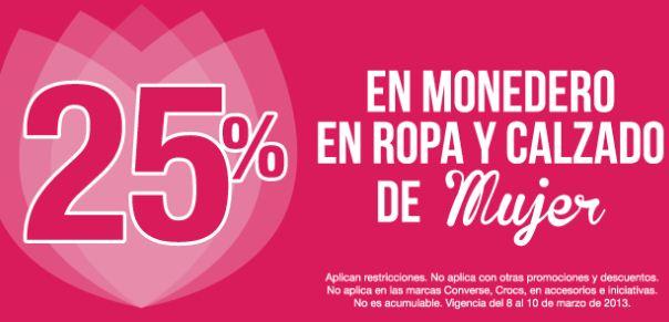 Mister Tennis: 25% en monedero electrónico en ropa y calzado de mujer