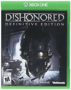 Amazon: Dishonored definitive edition para Xbox One