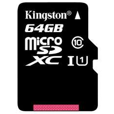 Amazon USA: MicroSD Kingston 64Gb a $12.99usd (Aprox. $228mxn)