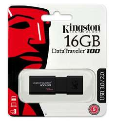 Amazon MX: USB Kingston 16 GB 3.0 Modelo 100 G3