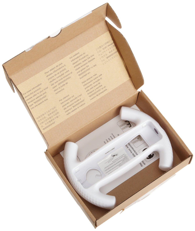 Amazon: adaptador de volante para Nintendo Wii a $56
