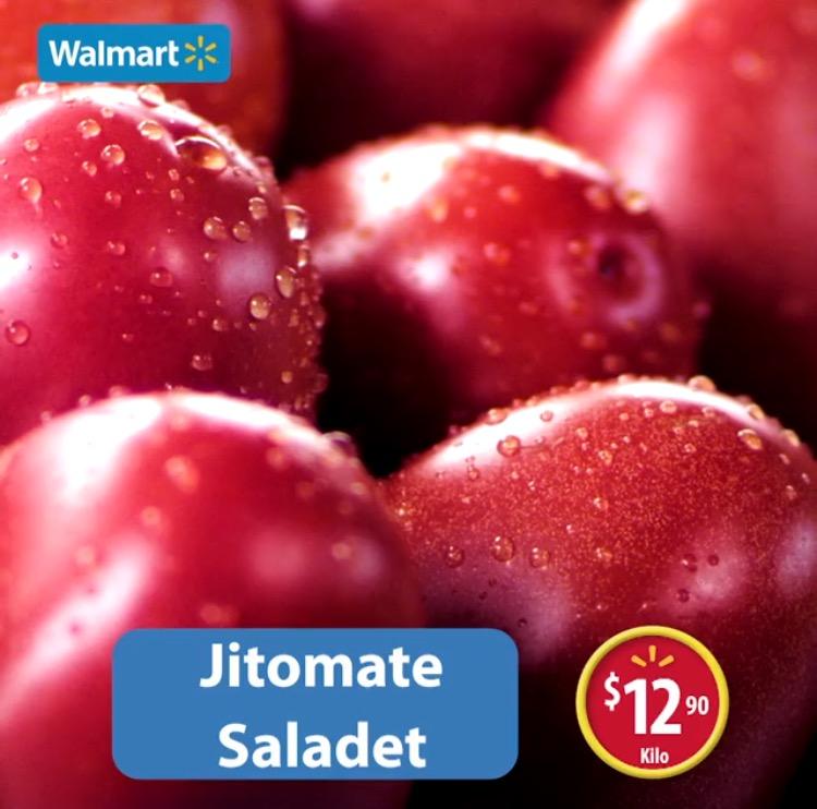 Martes de frescura en Walmart abril 5: Jitomate Saladet a $12.90 el kilo y más