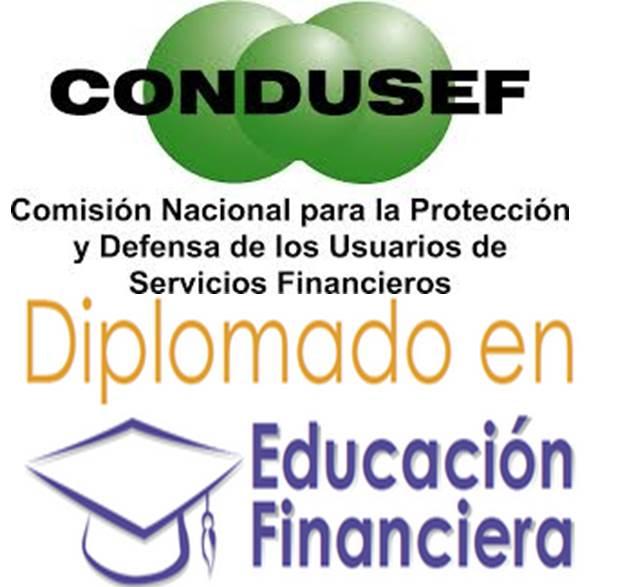 CONDUSEF: Diplomado en línea de Educación Financiera Gratis