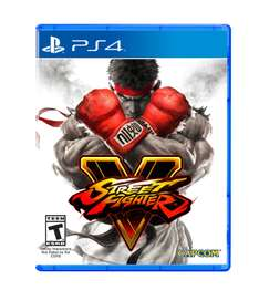 Amazon: Street Fighter V para PS4 a $763.68