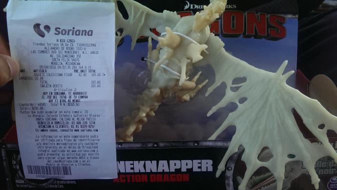 Soriana: dragones Spinmaster de $299 a $82.80