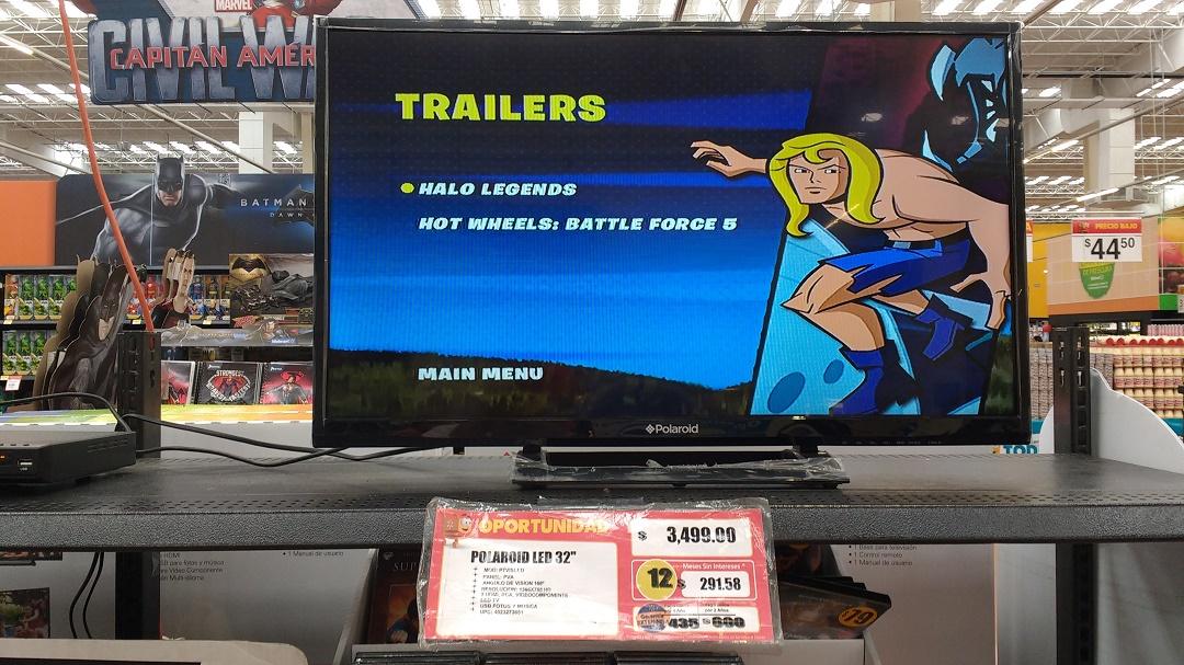 """Walmart Tezontle: TV Atvio de 32"""" a $2,999 y Polaroid a $3,499"""