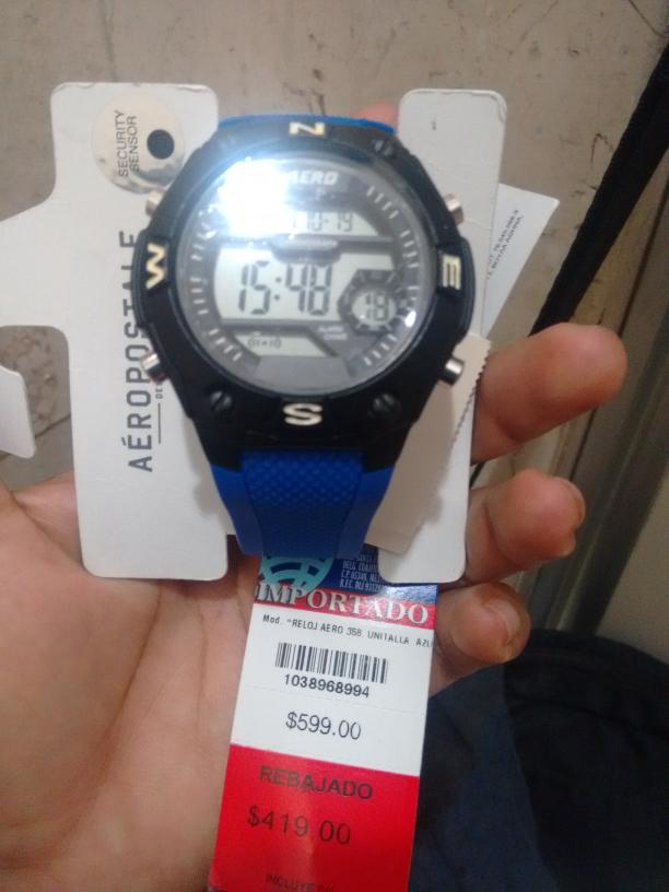 Liverpool Plaza Américas, Veracruz: reloj Aeropostale a $209.50