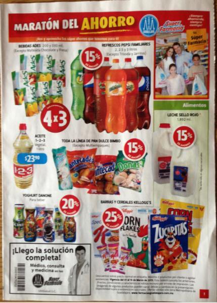 Folleto Farmacias Guadalajara del 1 al 15 de marzo de 2013