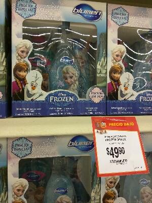Walmart Cuernavaca Kit de Frozen