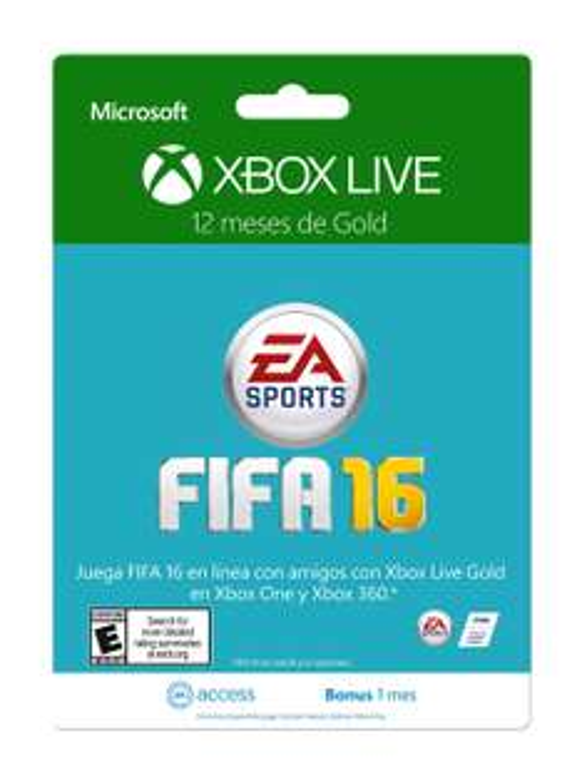 Amazon MX: Membresía Xbox Live 12 Meses Gold + 30 días de EA Access a $670 con cupón Saldazo