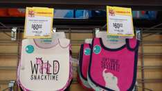 Walmart: Paquete de 3 baberos Child of mine a $60.02