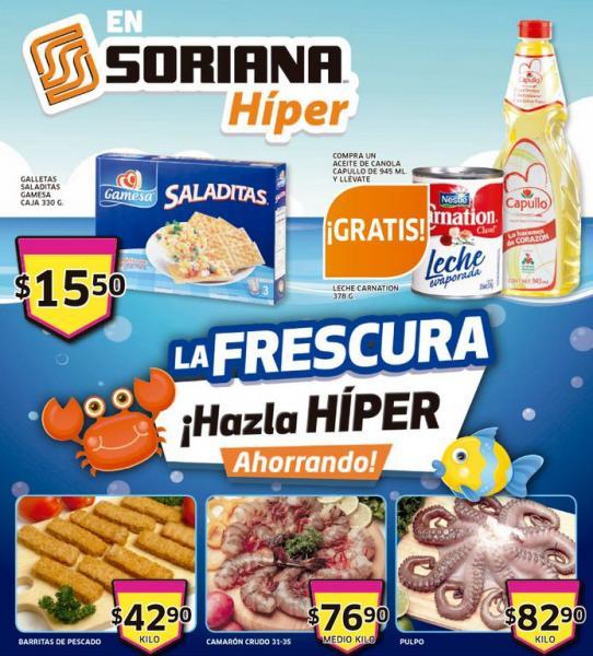 Folleto Soriana: 20% de descuento en colchones, toallas, cereales Kellogg's y más