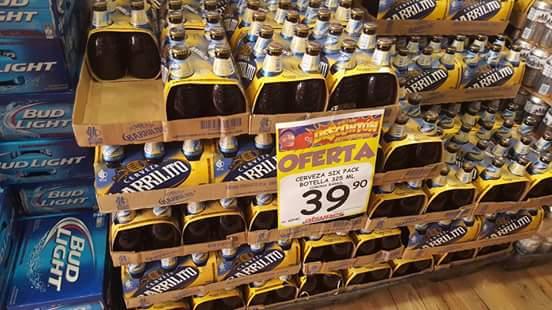 AlSuper Saltillo: six de barrilito a $39.90 entre otros.