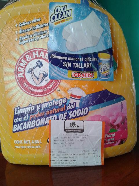 Chedraui Veracruz: Detergente ARM & HAMMER a $32.90