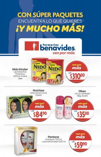Folleto Farmacias Benavides del 1 al 14 de marzo