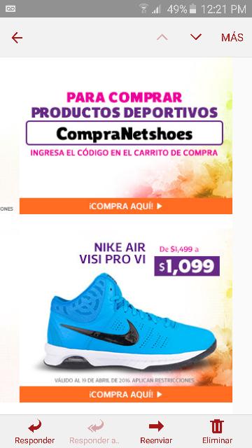 Netshoes: cupón $100 de descuento