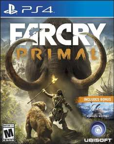 Amazon USA: Far Cry Primal Playstation 4, Xbox One a $690 aproximadamente.