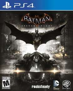 Amazon: Batman Arkham Knight para Playstation 4 o Xbox One a $399 o $340 con Saldazo