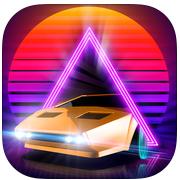 Appstore Neon Drive 80s style arcade game iOS GRATIS por tiempo limitado