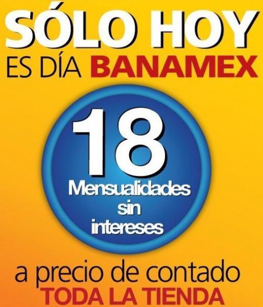 OfficeMax: 18 meses sin intereses en toda la tienda pagando con Banamex
