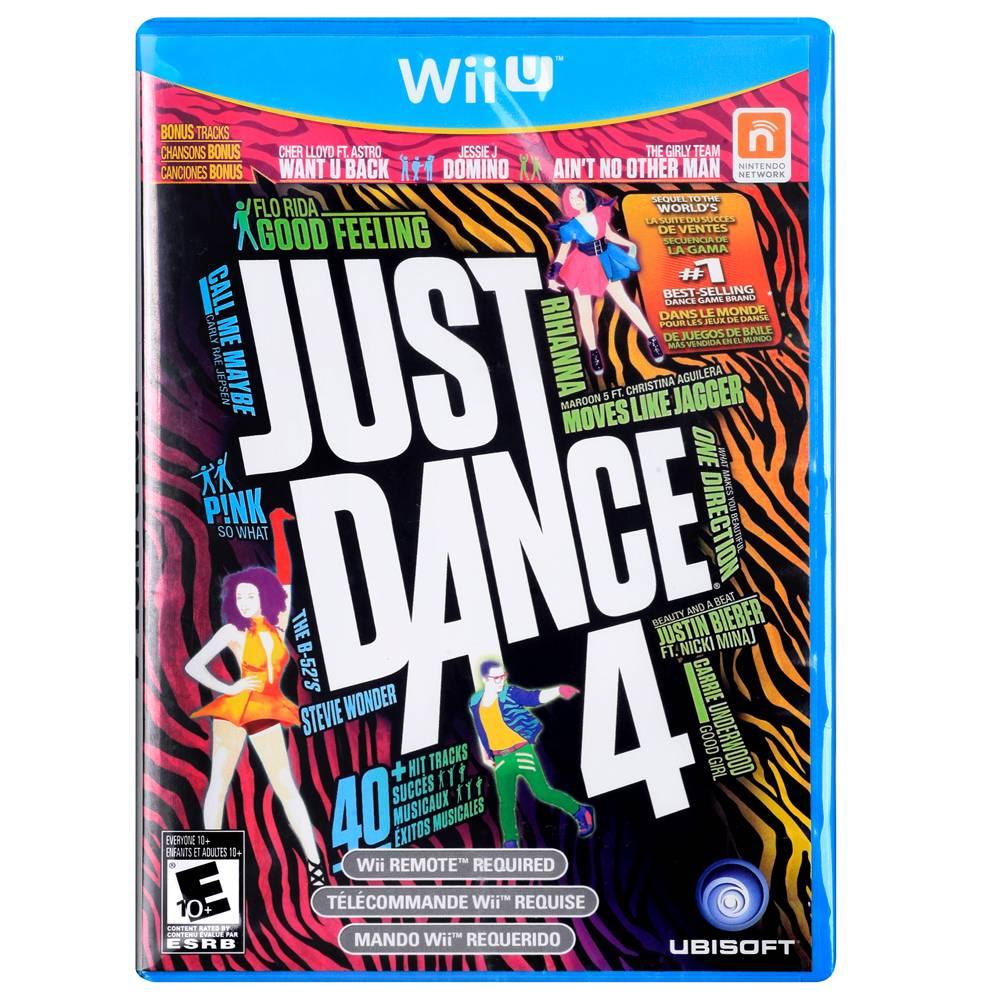 Walmart en línea: Just Dance 4 para Wii U a $199