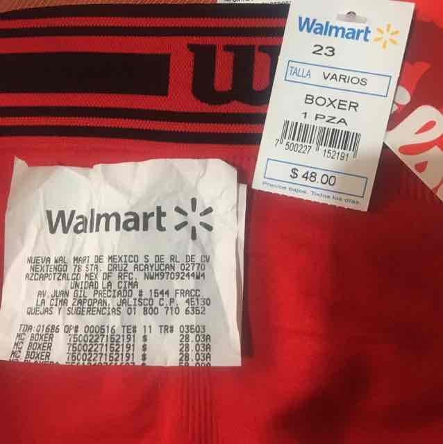 Walmart: Boxer Wilson de $48 a $28.03