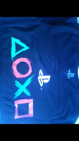Gamers Veracruz Centro: Camisa Sony cuello v desde $99 modelos y tallas